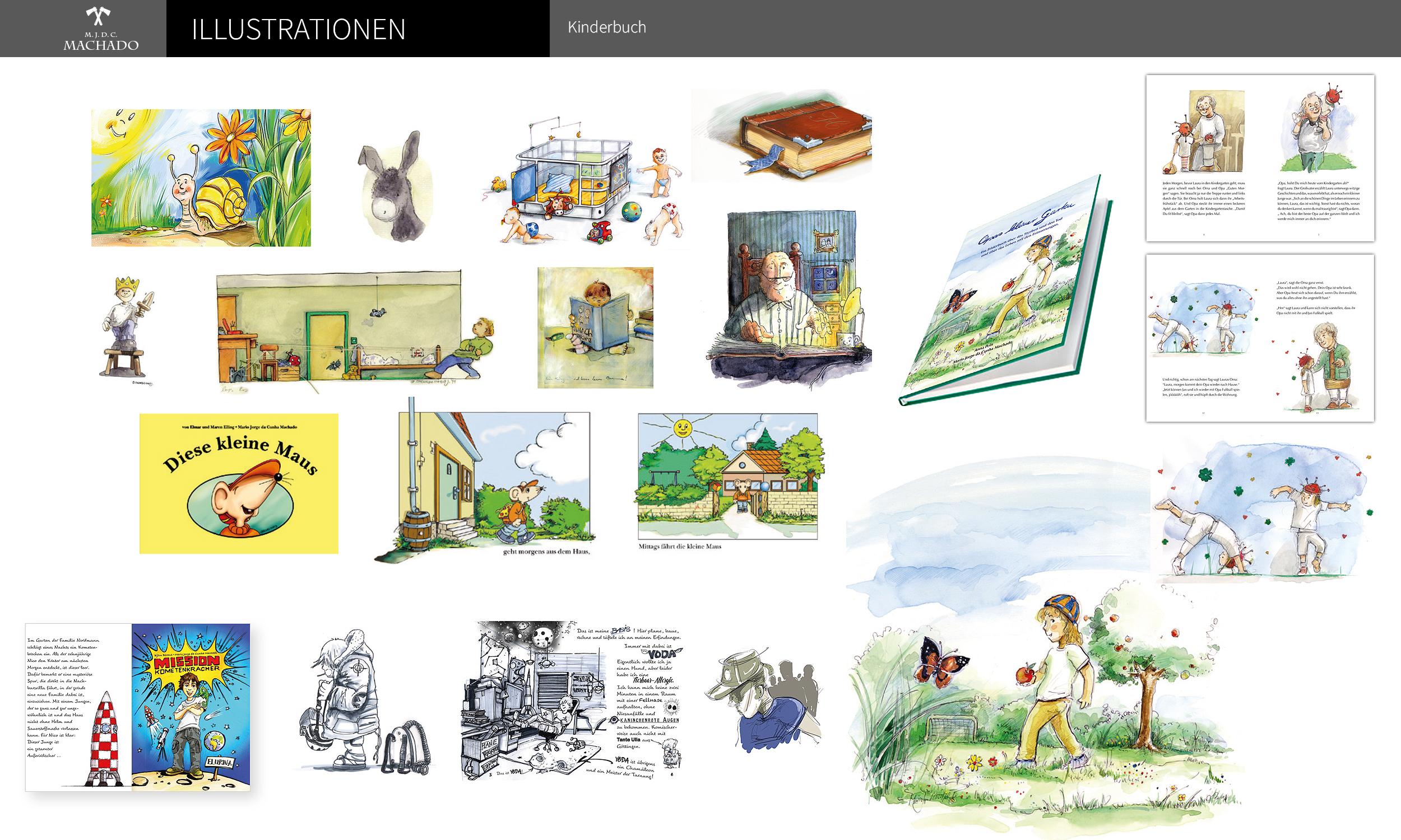 Auswahl an Illustrationen